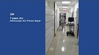 ACL Repair Patient Testimonial - DM | Dr. Gregory S. DiFelice