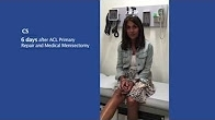 Patient Testimonial - CS | ACL Primary Repair & Medial Menisectomy