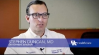 Dr Stephen Duncan answers a question about nagging knee pain HD,