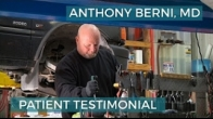 Self-employed auto mechanic has hip replaced by Dr. Anthony Berni