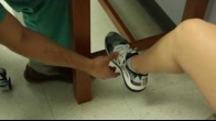 Static Isometric Muscle Strengthening Plantar and Dorsflexion