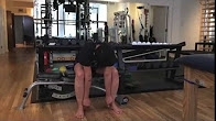 Video demonstration of 1 month exercises - Dangle stretch