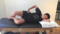Video demonstration of 1 month exercises - Clamshell