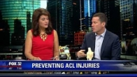 Preventing ACL injuries: Brian Cole, MD, on Fox TV Chicago