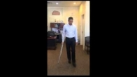Partial Weight Bearing Gait with 1 Crutch