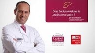Does back pain relates to professional sports ? by Dr. Firas Husban/Monte Carlo Radio