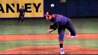 High School player pitching in the big A after elbow surgery in the past