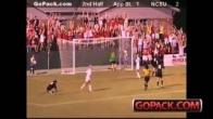 Jennie Krauser scores crazy goal vs. App. State