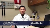 Dr. Vu H. Le | Orthopedic Surgeon - Adult & Pediatric Spine Surgery
