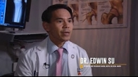 Dr. Su on Discovery channel, discussing advances in medical technology