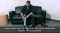 Spanish: How to Apply a Game Ready Half Leg Boot Wrap