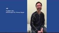 Patient Testimonial - AB | 5 years After Arthroscopic ACL Primary Repair