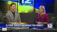 Preventing Back & Neck Pain From Heavy Backpacks