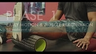 ACL Reconstruction Rehab | How to Strengthen Your ACL following Surgery | Phase 1