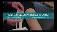 Patello-Femoral Rehabilitation | Runners Knee Exercises | Runners Knee Treatment