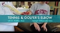 Tennis & Golfer's Elbow Rehab | Effective Exercises for Tennis Elbow & Golfers Elbow