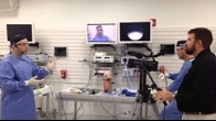 Dr Herrera performing live surgery during the Arthrex International Sales Meeting 11/5/13
