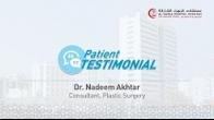 Dr Nadeem Akhtar - Patient testmonial