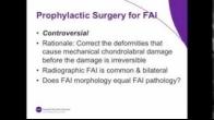 FAI Prophylactic Surgery