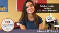 Patellar Tendon Rupture - Dr. Justin Newman