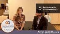 ACL Reconstruction - Dr. Justin Newman