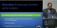 Endoscopic Lumbar Spine Surgery - Christoph P. Hofstetter, MD, PhD