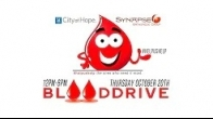#HelpUsHelp BloodDrive - October 20th in Sherman Oaks