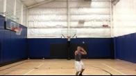 Basketball 2.5 months s/p anterior total hip