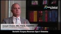 Bariatric Surgery Reverses Type II Diabetes
