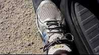 Pain top of foot between toes and ankle. Top of foot nerve pain. Change shoe lace pattern.