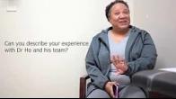 Violet Jackson patient of Dr Bryant Ho