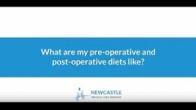 FAQ - Pre op & Post Op Diets