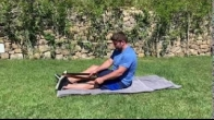 Supine Calf Stretch
