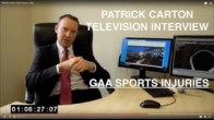 Patrick Carton GAA Injuries TG4