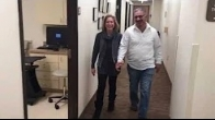 Husband and wife return after direct superior hip replacement with Dr Lige Kaplan