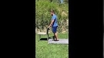 Standing Knee Flexion - 0-2 Weeks