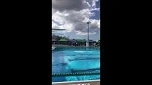 Amy diving competitively after treatment for Perthes disease