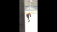 Tristan back on the ice!