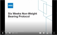 Six Weeks Non-weight Bearing Protocol