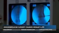 Groundbreaking surgery changes woman's life