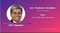 Kinesio Prehab Institute Educational Video -- Let's Talk About Scoliosis By Dr. Thomas J Kishen