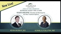 SPORTS AND SPINE: Shoulder and Neck Injuries and Their Treatment Options