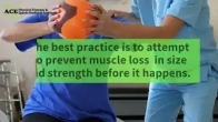 How to prevent Muscle Loss During an Injury