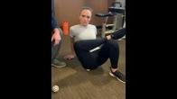Piriformis Stretch with Ball