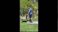 Standing Knee Flexion - 0-2 Weeks