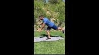 Straight Leg Dead Lift with Shoulder Movement - 6 -12 Weeks