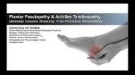 TenJet_Plantar Fascia and Achilles Rehabilitation