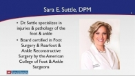 Common Foot & Ankle Questions Answered by Dr. Sara E. Suttle