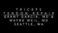 Triceps Tendon Repair