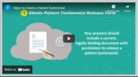 Steps to Create a Patient Testimonial